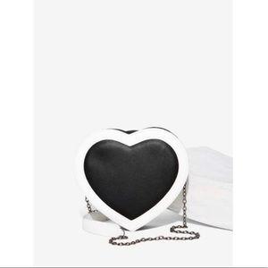 Nasty Gal Heart of Darkness Crossbody Bag